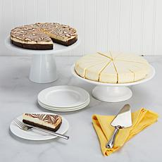 "David's Cookies 2-pack 10"" No Sugar Added Cheesecakes"