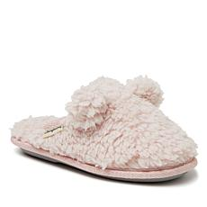 Dearfoams Kids Sherpa Teddy Scuff with Ears