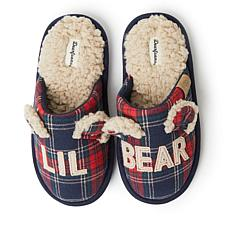 Dearfoams Lil Bear Kid's Scuff Slipper