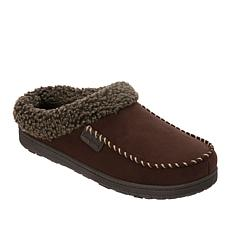 Dearfoams Men's Fabric Berber Cuff Clog