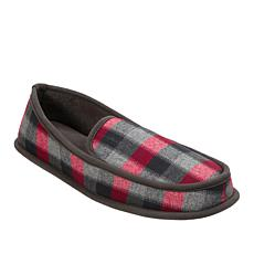 Dearfoams Men's Plaid Slipper