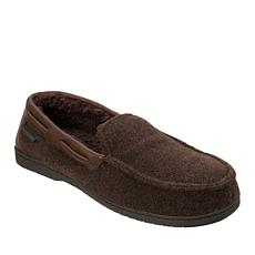 Dearfoams Mixed Material Moccasin