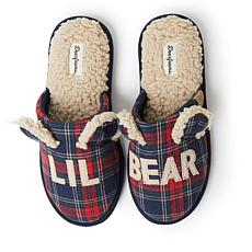 Dearfoams Unisex Lil Bear Adult Scuff Slipper