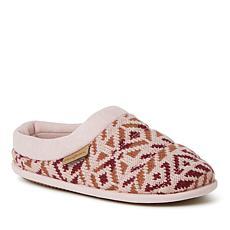 Dearfoams Women's Ashlyn Fairisle Knit Clog Slipper