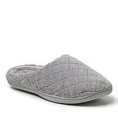 Dearfoams Women's Leslie Quilted Terry Clog Slippers