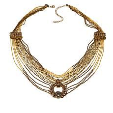 "deepa by Deepa Gurnani®  ""Electra"" 26"" Beaded Long Necklace"