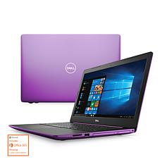 """Dell 15"""" Intel 8GB RAM 256GB SSD Laptop w/MS Office and Tech Support"""