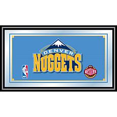 Denver Nuggets NBA Framed Logo Mirror