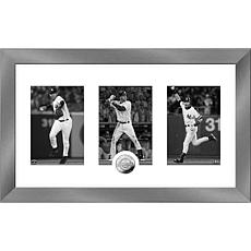 Derek Jeter 2020 HOF Induction Art Deco Silver Coin Photo Mint