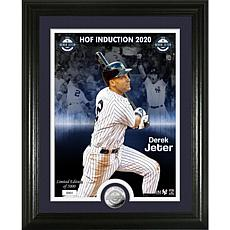Derek Jeter 2020 HOF Induction Silver Coin Photo Mint