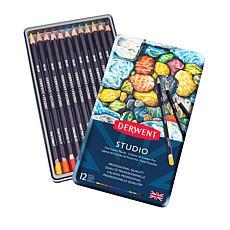 DERWENT Studio 12-piece Colored Pencil Set