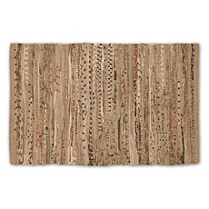 "Design Imports 20""x 31.5"" Reversible Rag Rug"