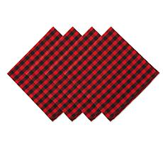 Design Imports 4-pack Gingham Napkins