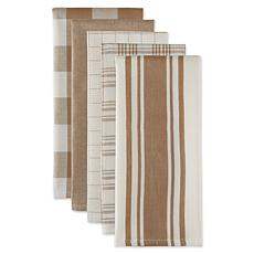 Design Imports Assorted Everyday Kitchen Towels 5-pack