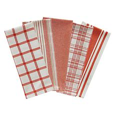 Design Imports Assorted Woven Kitchen Towel 5-pack