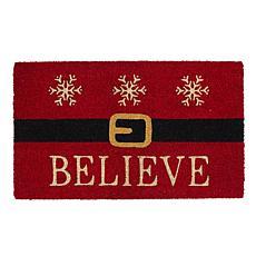Design Imports Believe Santa Doormat