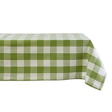 "Design Imports Buffalo Check Tablecloth - 60"" x 120"""