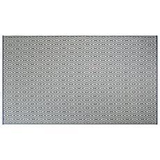 Design Imports Diamond Outdoor Rug 4' x 6'