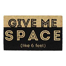 Design Imports Give Me Space Doormat