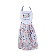 "Design Imports ""Homemade with Love"" Printed Apron"