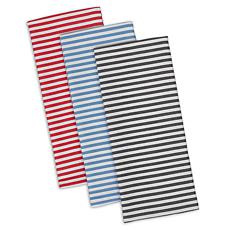 Design Imports I Love Paris Striped Heavyweight Kitchen Towel 3-pack