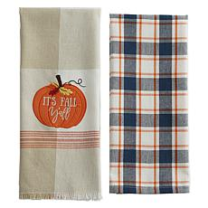 Design Imports It's Fall Y'All Kitchen Towels Set of 2