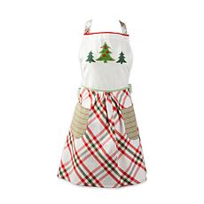 Design Imports Jolly Tree Printed Apron