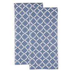 Design Imports Lattice Kitchen Towels 2-Pack