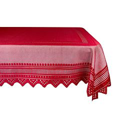 Design Imports Nordic Lace Tablecloth 52-inch x 90-inch