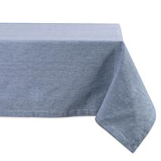 """Design Imports Solid Chambray 60"""" x 104"""" Tablecloth"""