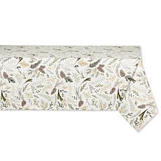 "Design Imports Sparkle Sprigs Tablecloth - 60"" x 104"""