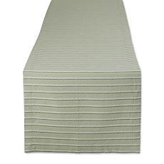 """Design Imports Sprig Dobby Stripe Table Runner - 14"""" x 72"""""""