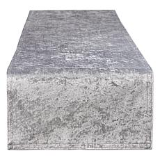 """Design Imports Velvet Table Runner - 14"""" x 108"""""""