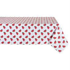 "Design Imports Watermelon Print Outdoor Tablecloth - 60"" x 84"""