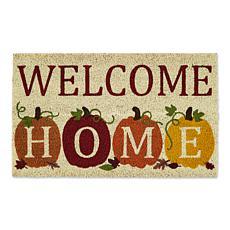 Design Imports Welcome Home Pumpkins Doormat