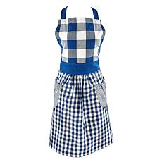 Design Imports Woven Gingham Apron
