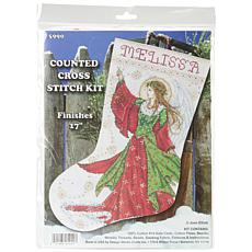 Design Works Counted Cross Stitch Kit 17 Long - Angel of Joy