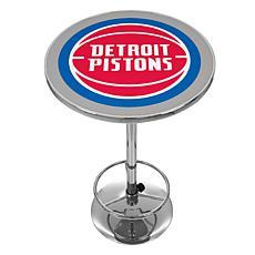 Detroit Pistons NBA Chrome Pub Table