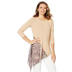 DG2 by Diane Gilman Asymmetric Combo Top