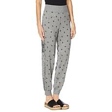DG2 by Diane Gilman Bandana-Print or Solid Pull-On Jogger Pant