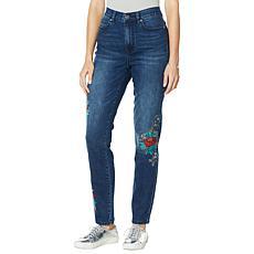 DG2 by Diane Gilman Classic Stretch Cross Stitch Skinny Jean