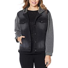 DG2 by Diane Gilman Classic Stretch French Terry Jacket