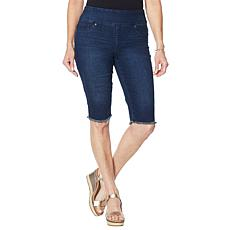 DG2 by Diane Gilman Classic Stretch Pull-On Bermuda Short - Basic