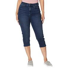 DG2 by Diane Gilman Classic Stretch Stretch Pedal Pusher Jean