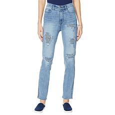 DG2 by Diane Gilman Classic Stretch Tweed Back Skinny Jean