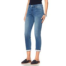 DG2 by Diane Gilman Comfort Stretch Denim Cuffed Jean - Basic