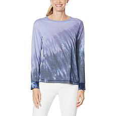 "DG2 by Diane Gilman ""DG Downtime"" Tie Dye Sweatshirt"