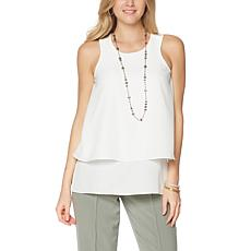 DG2 by Diane Gilman Mixed-Media Easy Tank - Basic