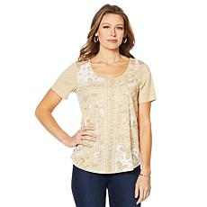 DG2 by Diane Gilman Print-Front Tee