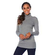 DG2 by Diane Gilman Quad Blend Classic Turtleneck